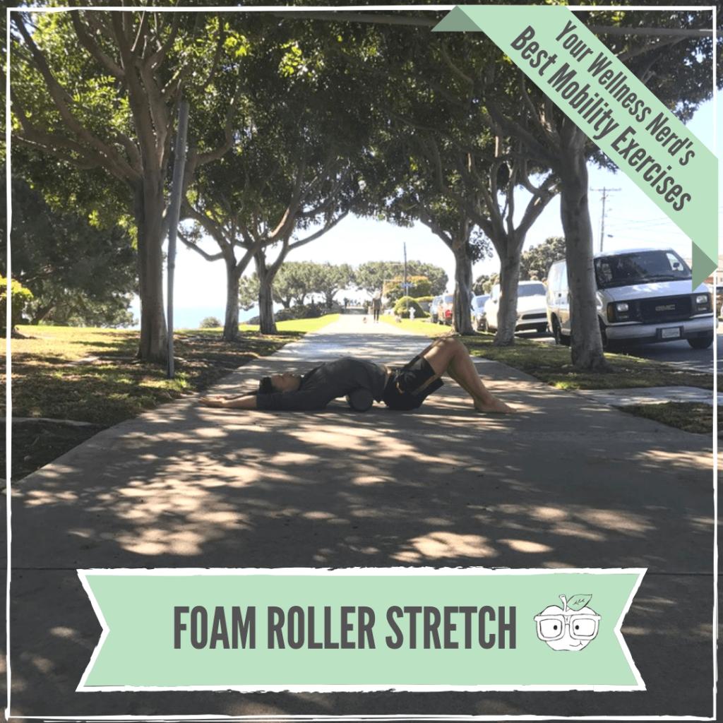 foam roller stretch back