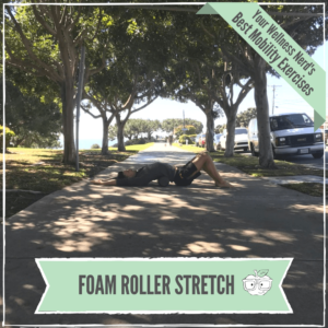foam roller stretch back