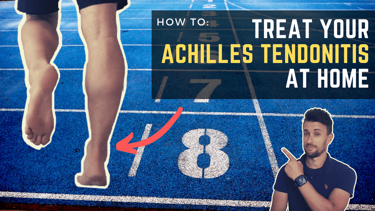 Achilles Tendon Pain: How To Treat Achilles Tendon Pain at Home (& its Cause)